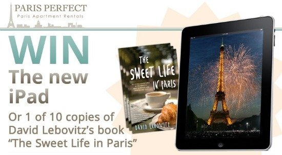 Win an iPad with Paris Perfect Summer Giveaway
