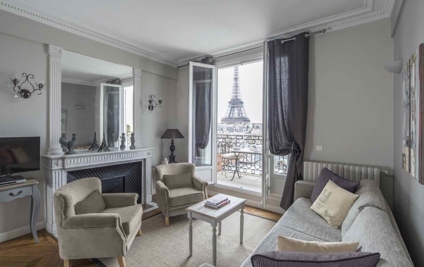 Paris apartment remodel