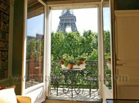 Paris 3 Bedroom Apartment for Sale with Eiffel Tower Views