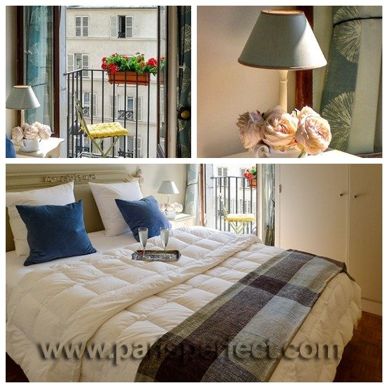 Paris Perfect Vacation Rental with Romantic Bedroom Balcony