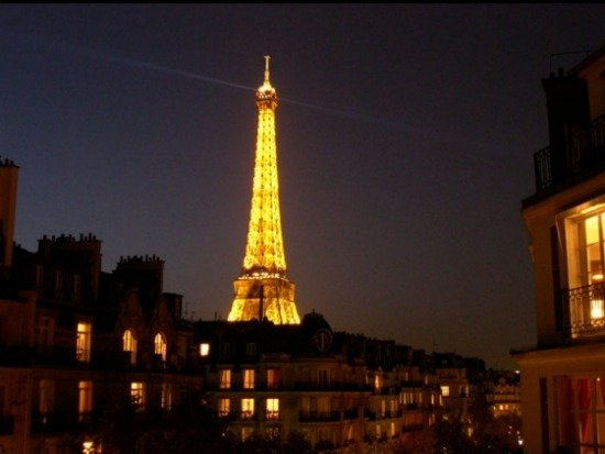Paris Perfect Vacation Rental Alsace Eiffel Tower Sunset