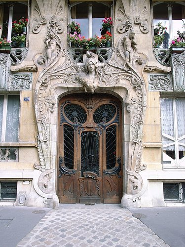Art Nouveau Paris 7th Arrondissement Jules Lavirotte Entrance