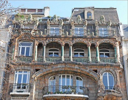 Art Nouveau Paris Jules Lavirotte Facade
