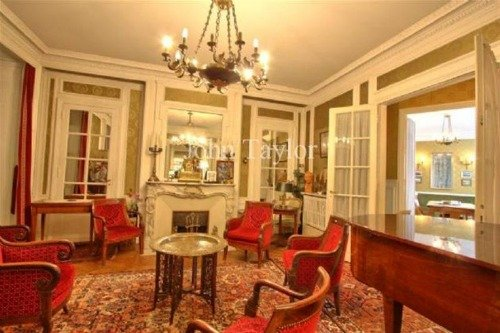 Jules Lavirotte Building Apartment for Sale Salon