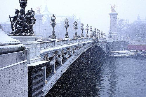 Paris Winter Romance