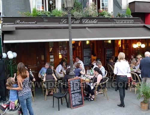Dining out in the Latin Quarter in Paris