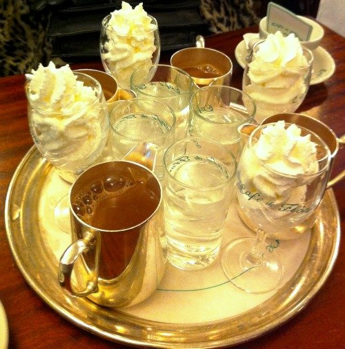 ... Perfect's Hot Chocolate Challenge - Café de Flore - Paris Perfect