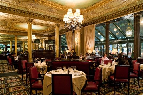 Cafe de la Paix Dining Room Paris