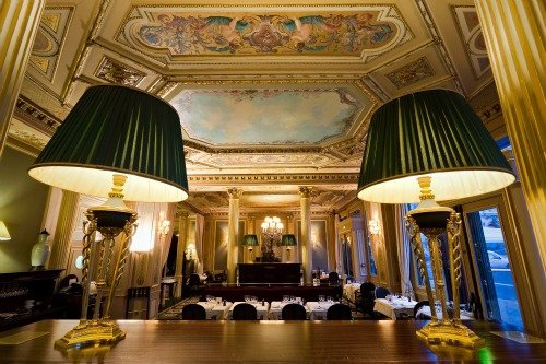 Cafe de la Paix Paris Sumptuous Interior