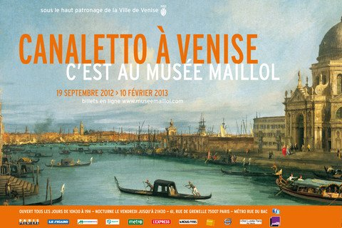 Canaletto à Venise at the Musée Maillol