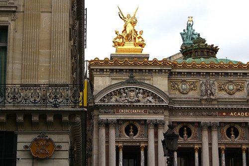 Paris Opera Garnier Cafe de la Paix