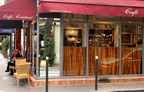 Cafe Constant by Christian Constant in Paris