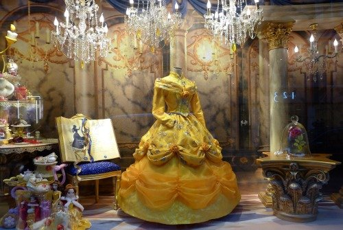 Disney Beauty and the Beast Christmas Windows Galeries Lafayette