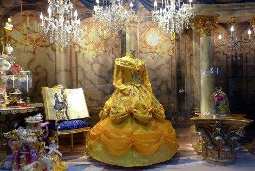 Disney Beauty and the Beast Christmas Windows Galeries Lafayette