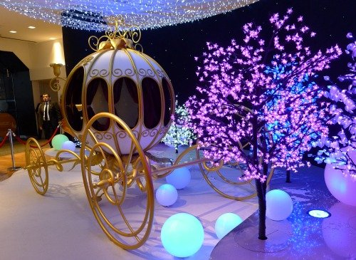 Cinderella's Carriage Galeries Lafayette Christmas Paris