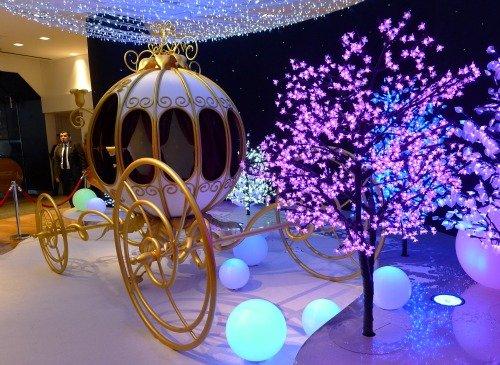 Cinderella's Carriage Galeries Lafayette Christmas Paris