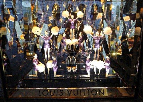 Louis Vuitton Christmas Windows Galeries Lafayette