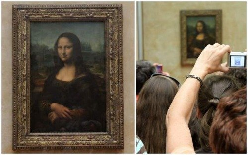 See the Mona Lisa at the Louvre Museum in Paris