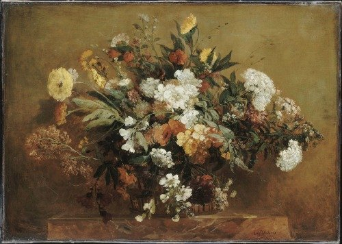 Flowers in Winter at the Musée Delacroix