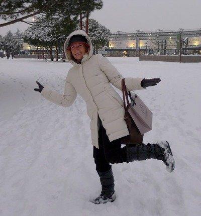 Snow in Paris