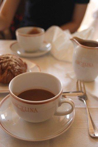 Angelina Hot Chocolate Paris Cup