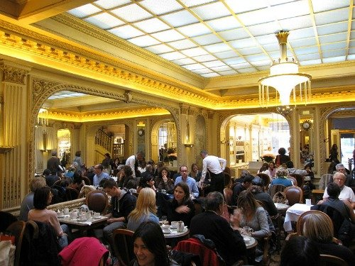 Angelina's Cafe in Paris