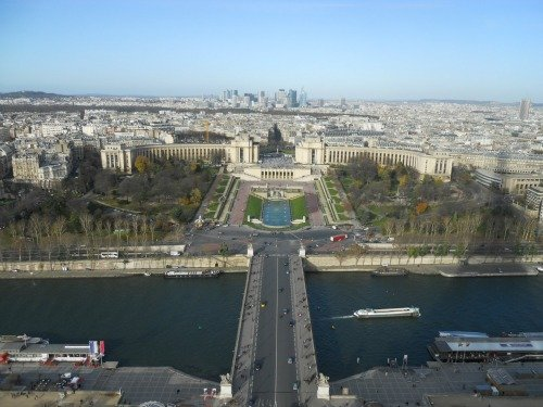 View of Chaillot from Eiffel Tower