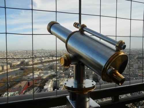 Best views of Paris from Eiffel Tower
