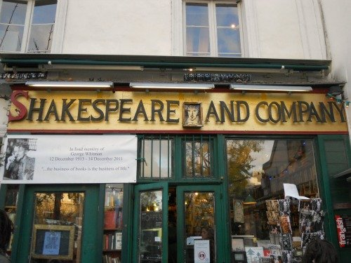 Paris Shakespeare and Company bookstore