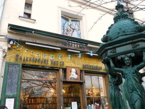 Shakespeare and Company Bookstore Paris