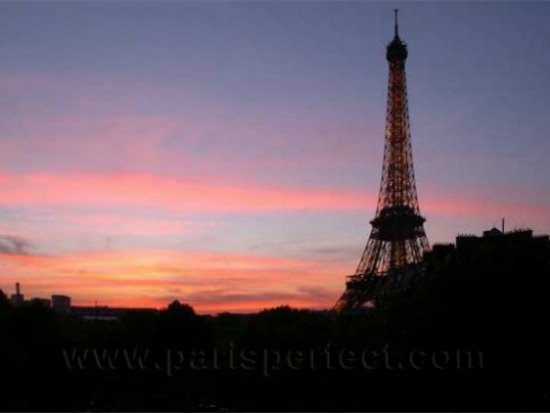 Paris apartment for sale with Eiffel Tower View