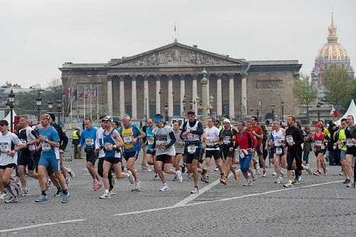 Paris Marathon 7th arrondissement