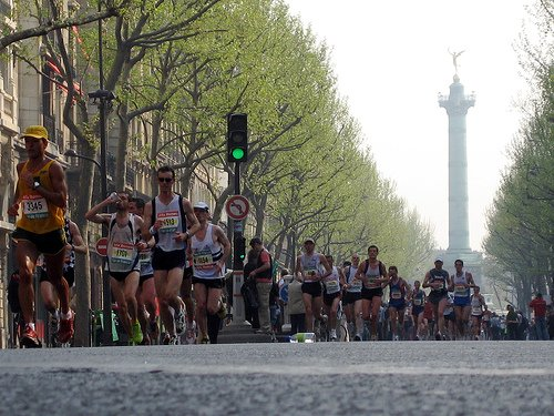 The Paris Marathon 2013