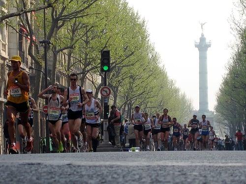 The Paris Marathon 2013