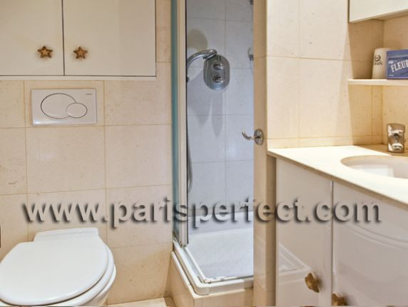 Cabernet One Bedroom Apartment for Sale Paris Bathroom