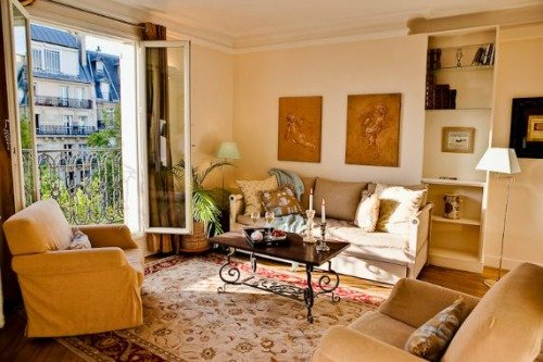 Cabernet One Bedroom Apartment for Sale Paris Spacious Living Room