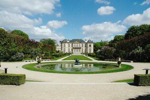Rodin Museum Gardens Paris