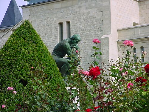 Rodin Museum Rose Garden Paris