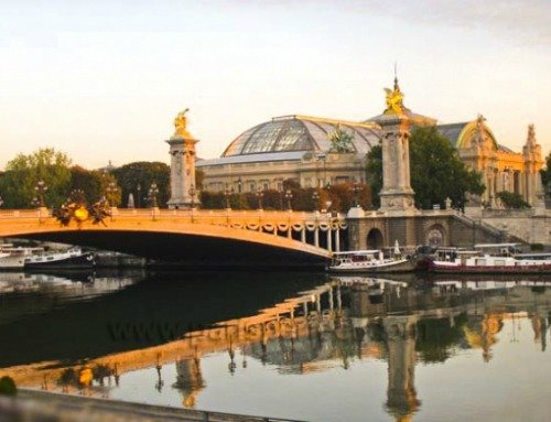 Romantic walks along the Seine