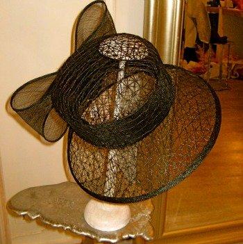 Maison Saint Lager Couture Hat Shop Paris Black