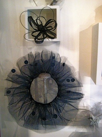 Maison Saint Lager Couture Hat Shop Paris Blue
