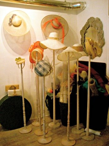 Maison Saint Lager Couture Hat Shop Paris Display
