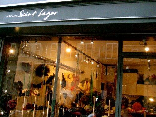 Maison Saint Lager Couture Hat Shop Paris