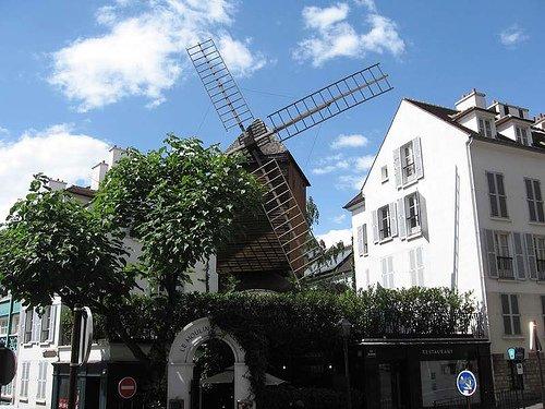 Montmartre Windmills Paris