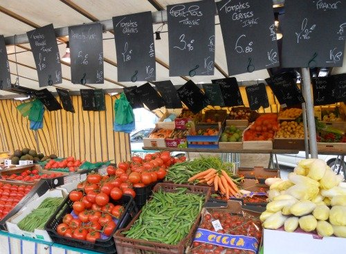 Paris Market French Lesson