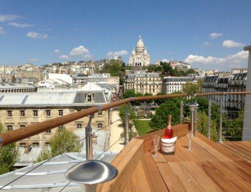Paris Perfect Montmarte Vacation Rental Stunning Terrace Views