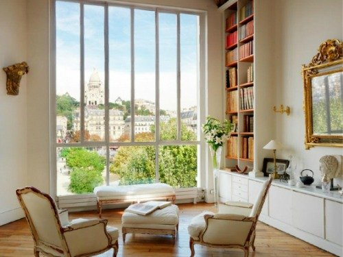 Paris Perfect Montmartre Vacation Rental Living Room