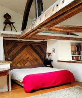 Paris Perfect Montmartre Vacation Rental Master Bedroom