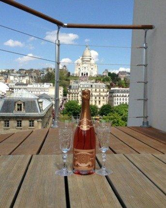 Paris Perfect Montmartre Vacation Rental Terrace Views