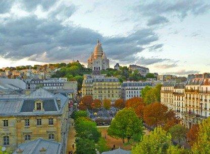 Paris Perfect Montmartre Vacation Rental View Sacre Coeur